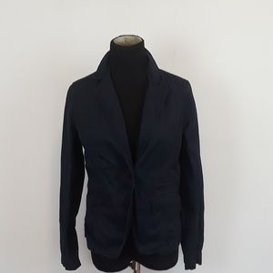 J. Crew Broken in Chino Navy Classic Twill Blazer